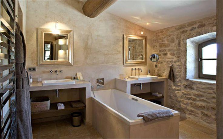 Ba o rustico contemporaneo decandyou ideas de decoraci n y - Mobiliario para el hogar ...