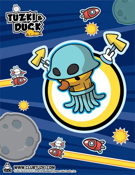 Tuzki & Duck: Design #5