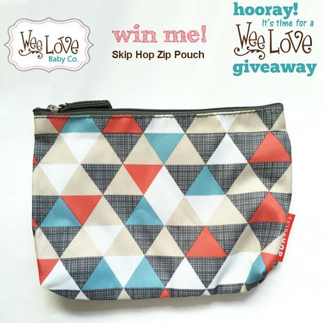 Yay for 7K #Giveaway Day 6...7 winners for this prize... @skiphop Zip Pouch in…