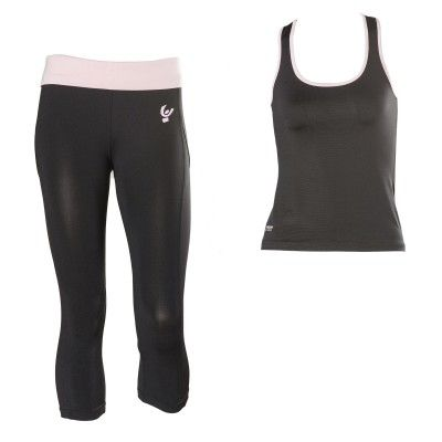 #FW2013, #WRUP_Sport #Shaping_Effect, #Comfort, #Pedal_Pusher, #Free_Tank_Top, #Black_Pink
