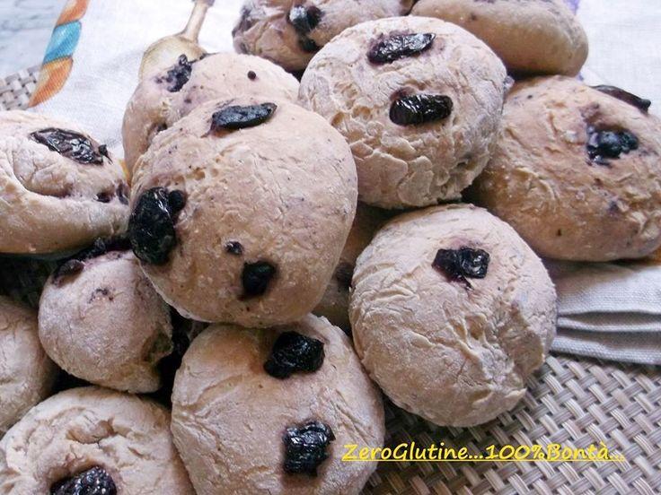 Panini alle olive senza glutine