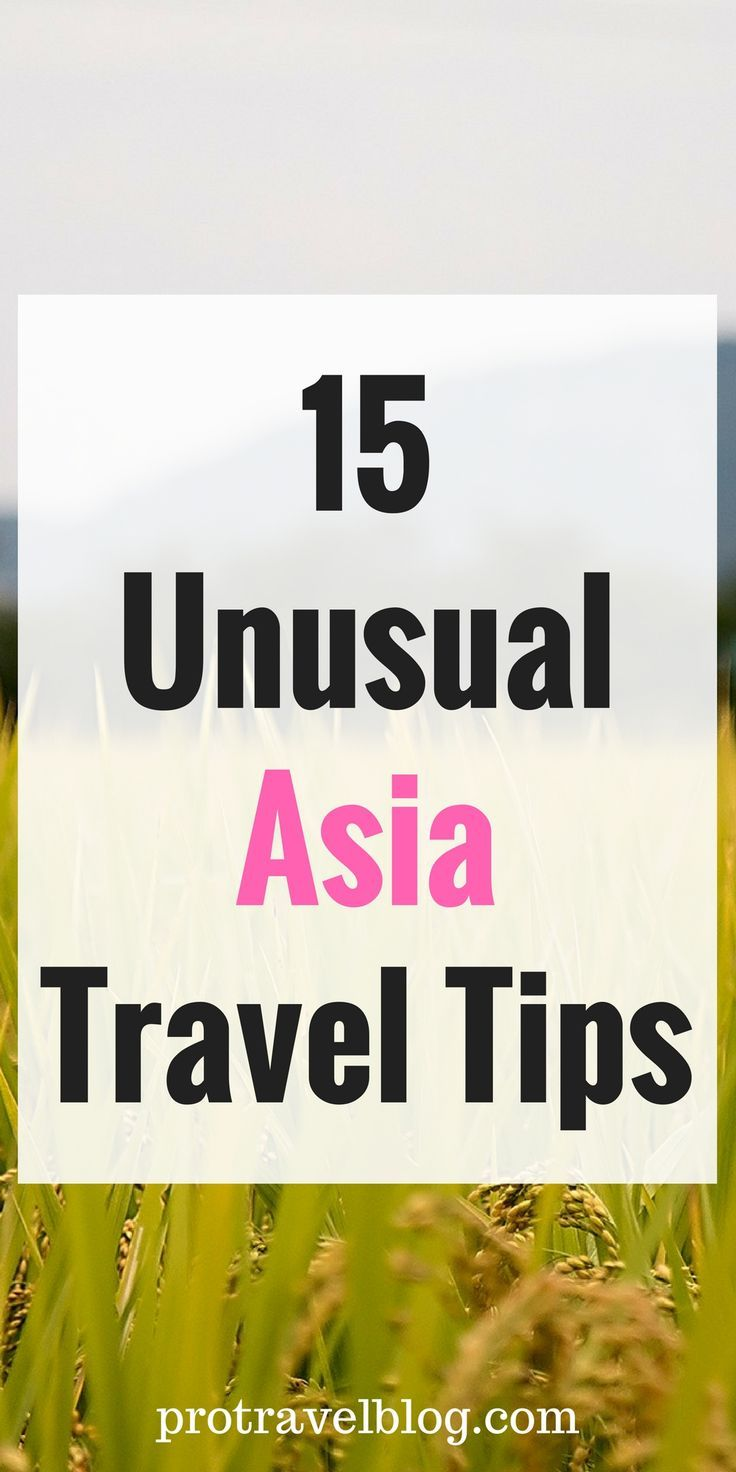 Asia is an amazing place for food, culture, and cheap things to do. Here are 15 incredibly important tips for cheaper, safer, and funner travels in Asia! Click here to see them.