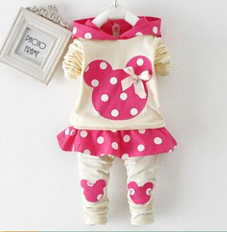 Cute Minnie Mouse Outfit for Girls