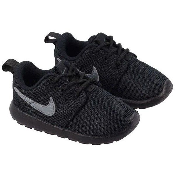 Buy Nike Roshe Run Infants Trainers in Black with UK NEXT DAY DELIVERY.  These Kids. Baby Boy Shoes ...