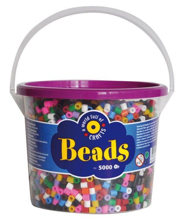Perline da stirare mix 10 colori 5000 pezzi