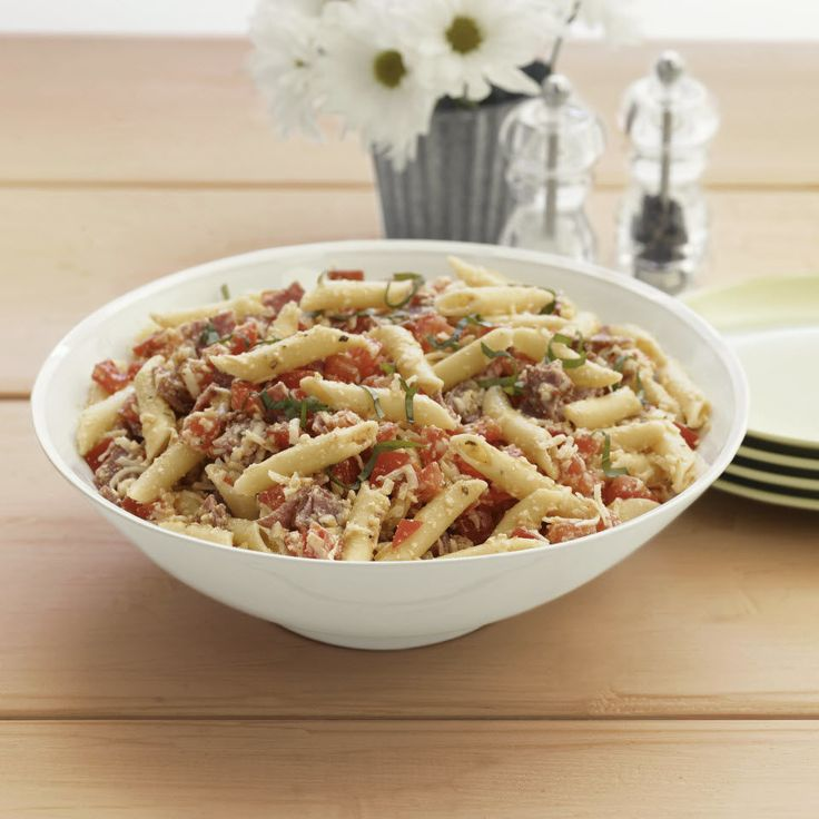 Photo de recette : Salade de pâtes toute garnie
