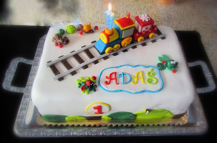 Choo Choo fondant train for Adas :-****
