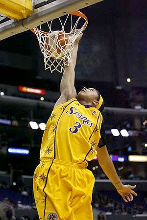 Candace Parker #3 Los Angeles Sparks