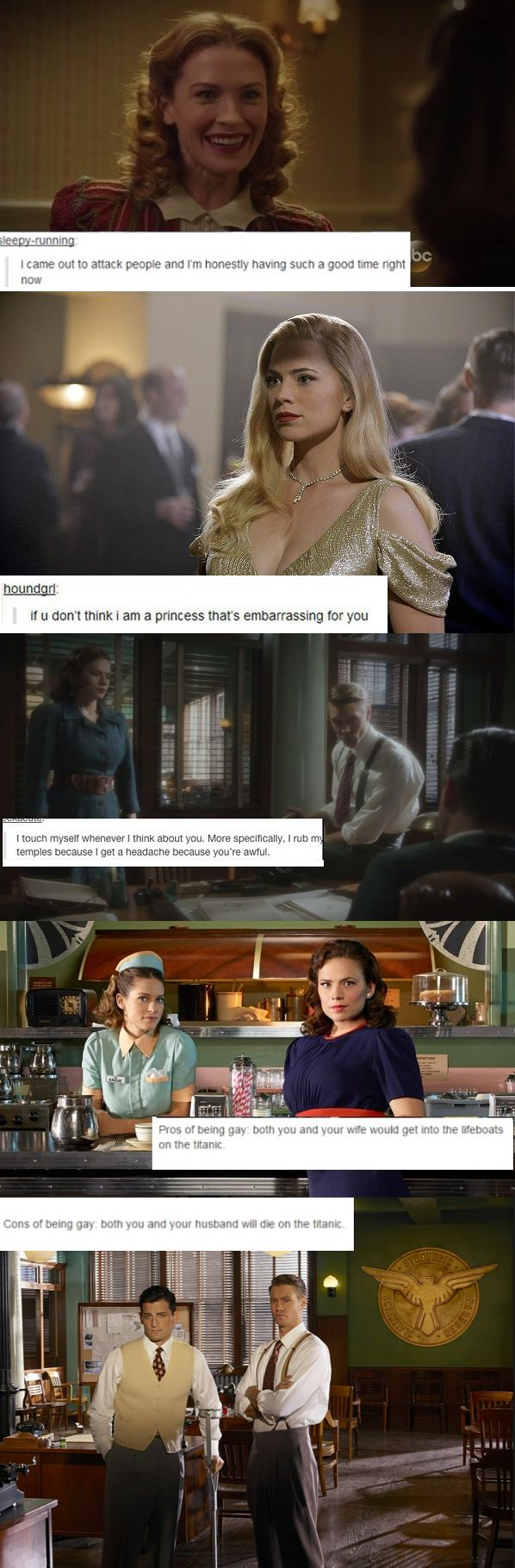 agent carter + text posts #marvel #agentcarter #kurttasche