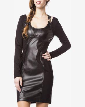 Šaty Versace Jeans   Černá   Dámské   XXS