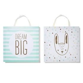 Forest Friends Canvas - 2 Pack