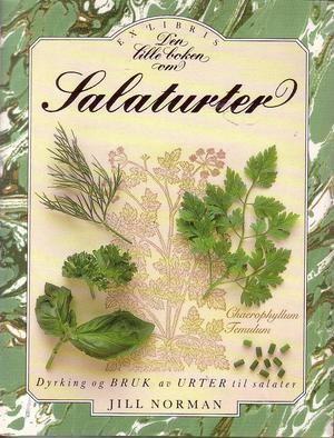"""""""Den lille boken om salaturter"""" av Jill Norman"""