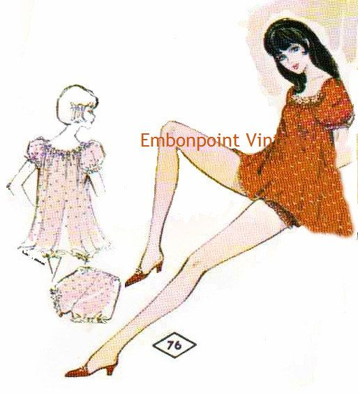 Plus Size Vintage Pattern from www.embonpointvin...