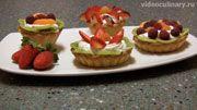пошаговый фото-рецепт ивидео-рецепт пирожных