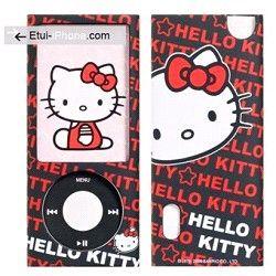 Protection silicone Hello Kitty iPod Nano 5 sur http://www.etui-iphone.com/ rubrique #ipod #nano