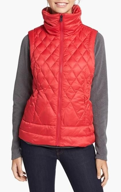 Love! Red Down Vest
