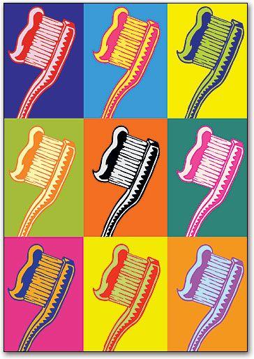 Warhol Reminder Postcard by SmartPractice