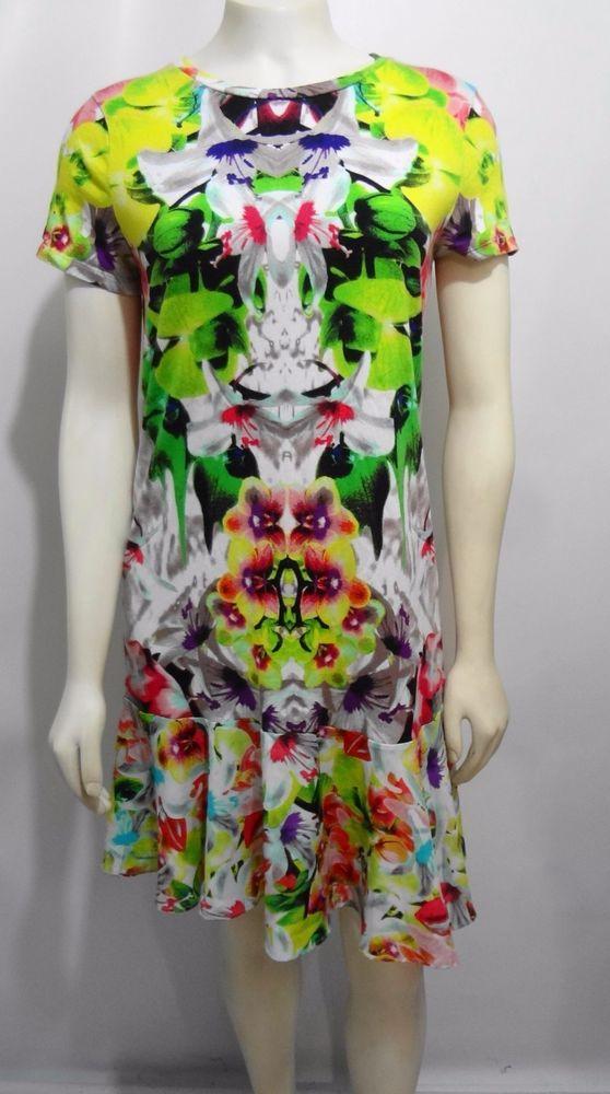 Prabal Gurung For Target Womens S First Date Print Drop Waist Mini-Dress #PrabalGurungforTarget #DropWaist #Casual