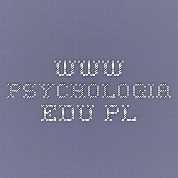 www.psychologia.edu.pl