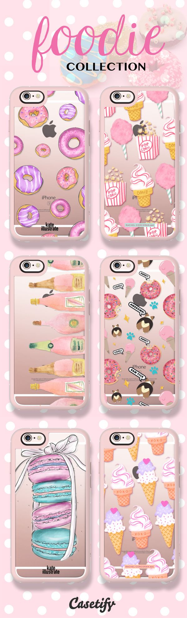 The sweet life. Food and love! Shop our newest Foodie Collection here: https://www.casetify.com/foodie | @casetify