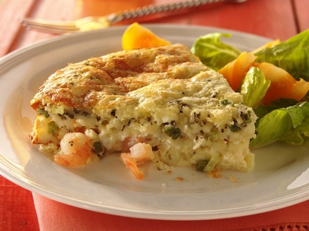 Impossibly Easy Shrimp Pie    This was Scrumptious