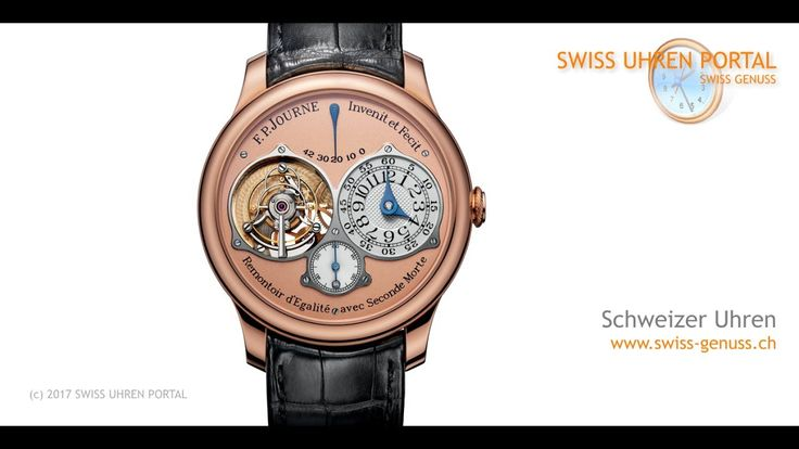 Swiss Uhren Portal - F. P.  Journe