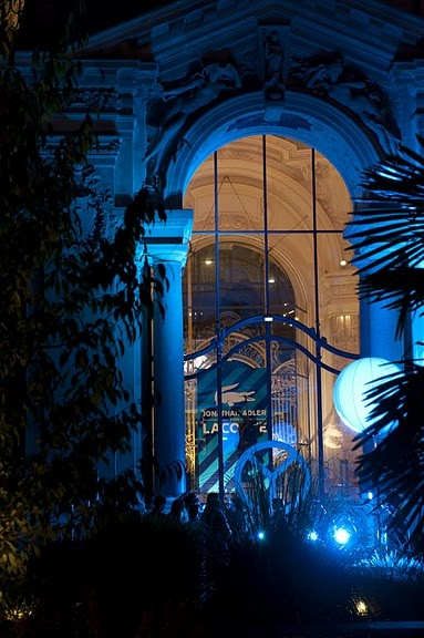 More of the garden at the Petit Palais