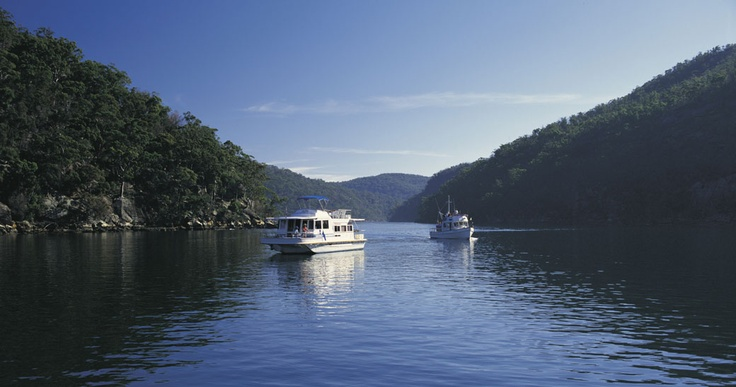 If you fancy something completely different then hire a house boat and explore one of Australia's beautiful rivers. The Hawkesbury just outside Sydney is a good place to start. It's a great thing to do as a family and you can moor up to visit the townships and get a bite to eat.