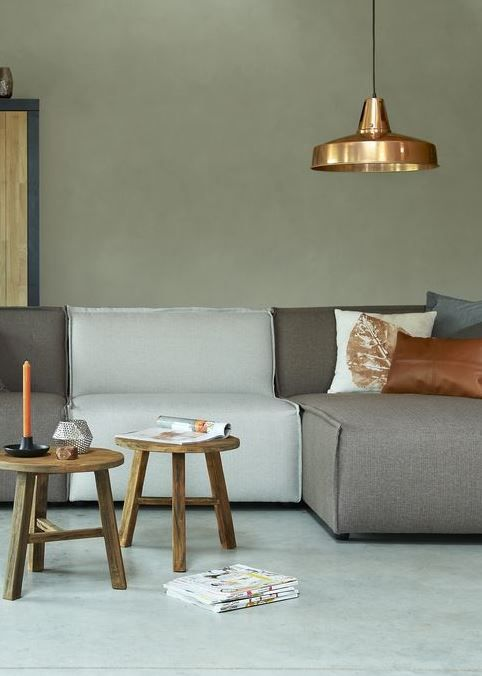 Sofa' Grey&Withe