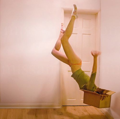 magic box falling down inside wonderland surrealism photography art #falling
