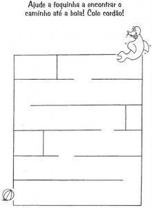 Preschool and Kindergarten – Mazes (1)