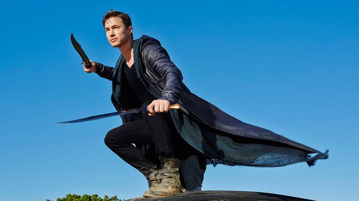 Perfect shot of Michael in battle mode #Dominion