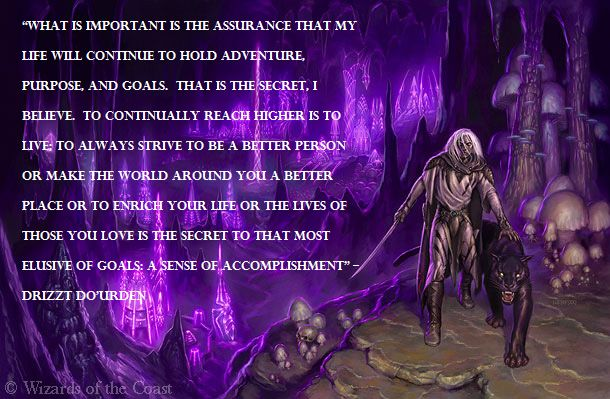 Truth Wallpapers With Quotes Related Image Fantasy Pinterest Drizzt Do Urden Elf