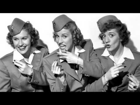 The Andrews Sisters - Alexander's Ragtime Band