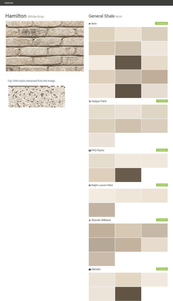 17 best images about general shale on pinterest names for Valspar paint visualizer