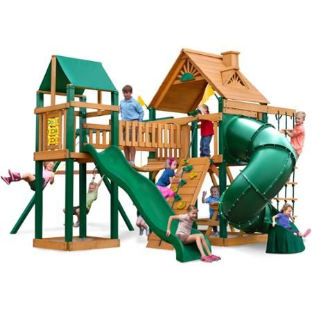 Gorilla Playsets Catalina Wooden Swing Set