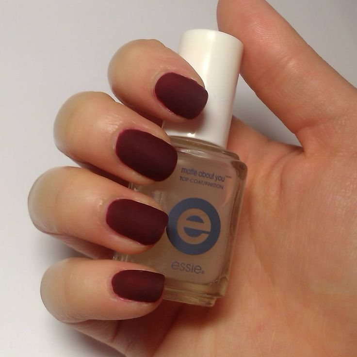 Matte About You Essie Nail Polish - To Bend Light