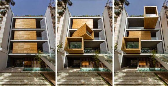 Uma arquitetura surpreendente e luxuosa em um imóvel de 7 pavimentos e 1.400 m². Clique na imagem e conheça a casa dos quartos giratórios.