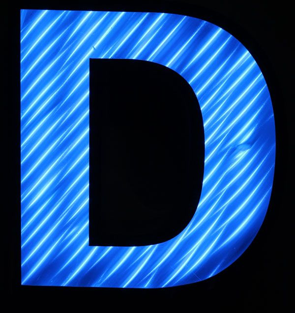 blue letter D | The Letter - D | Pinterest