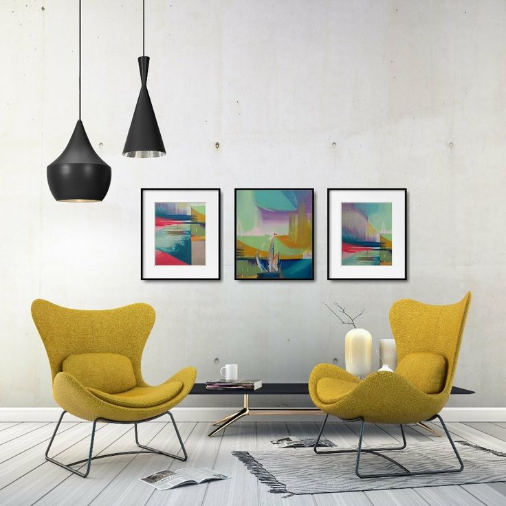 Looking for modern abstract wall decor? Get inspired by these art prints, available as instant download!