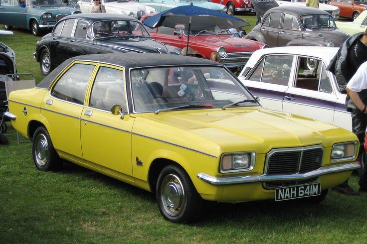 Vauxhall Victor FE De auto van mijn vader waar ik mijn eerste kilometers rijervaring in op heb opgedaan.
