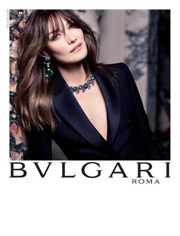 Carla Bruni stars in Bulgari's fall-winter 2015 campaign