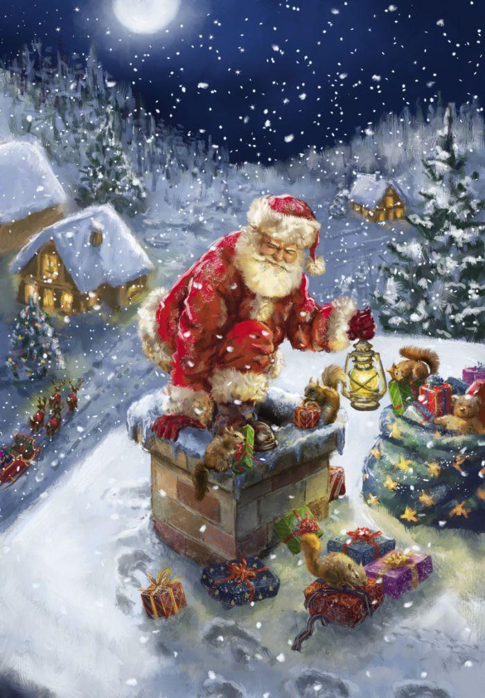Marcello Corti - Santa on a roof.jpg