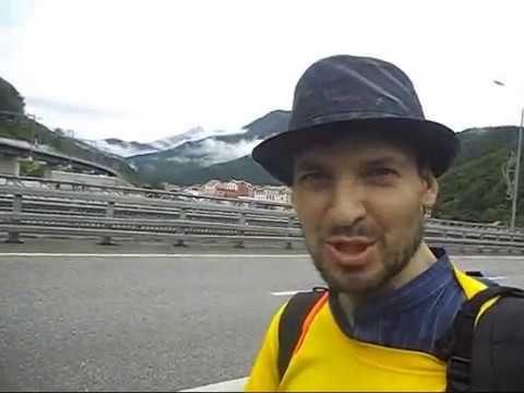 Красная поляна в Сочи. Обзор Красной поляны ► Поездка в Сочи - YouTube