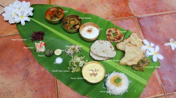 Ribbon's to Pasta's: Maharashtrian thali