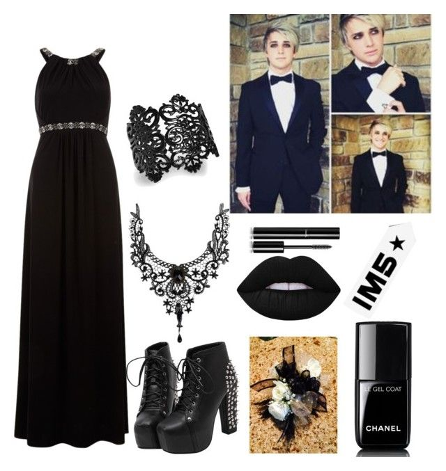 """IM5 Dalton Prom"" by faithprincess2000 on Polyvore featuring Monsoon, Thalia Sodi, Lime Crime and Chanel"