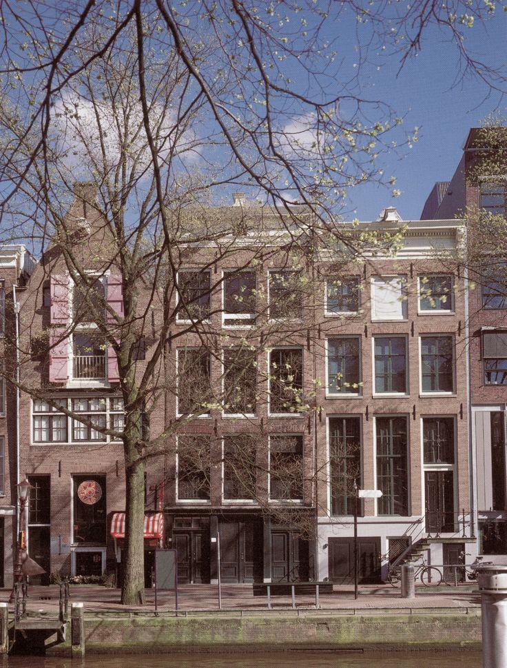 Anne Frank House | Anne frank house, Anne frank, Amsterdam ...
