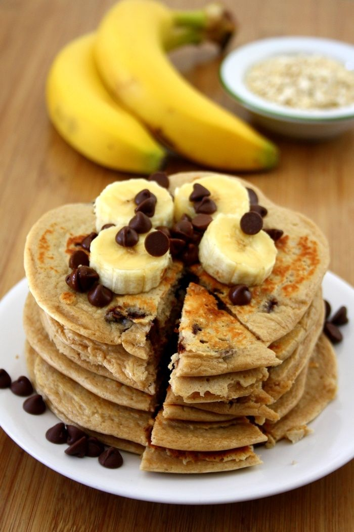pancakes bananes blancs d'oeufs