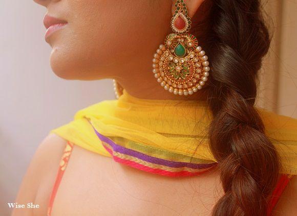 Indian earrings blog