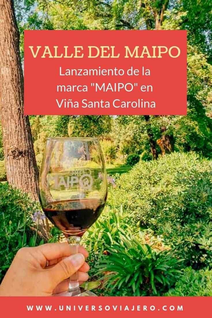 Lanzamiento De Marca Maipo Potencuando El Valle Del Maipo Con